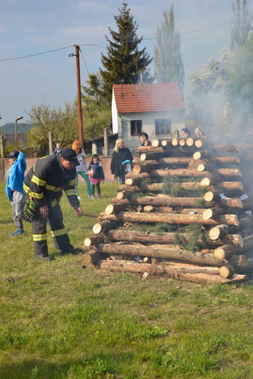 Slavnosti ohňů Beltine v Koryčanech
