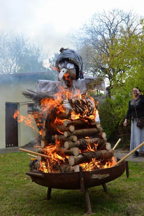 Slavnosti ohňů Beltine v Jestřabicích