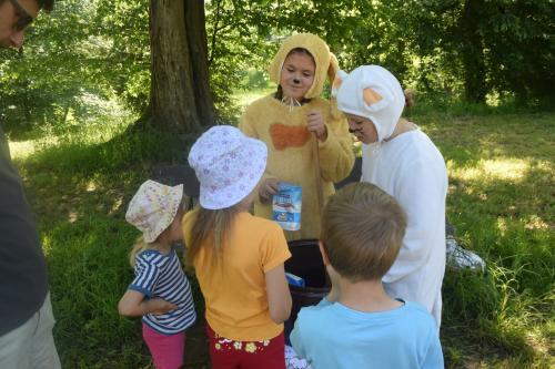 Den dětí v pohádkovém parku