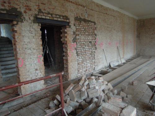 Fotografie z průběhu stavby
